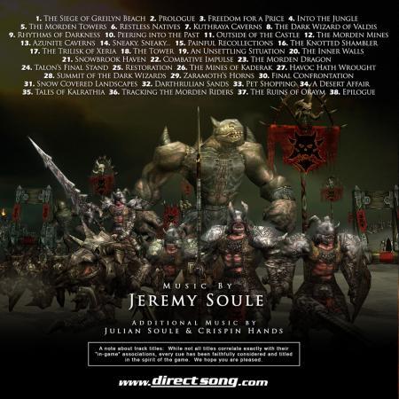Dungeon Siege Soundtrack 103