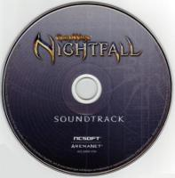 Guild Wars: Nightfall Soundtrack. CD US ver. Click to zoom.