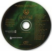 Legend: Hand of God Official Soundtrack from the game. CD German version. Click to zoom.