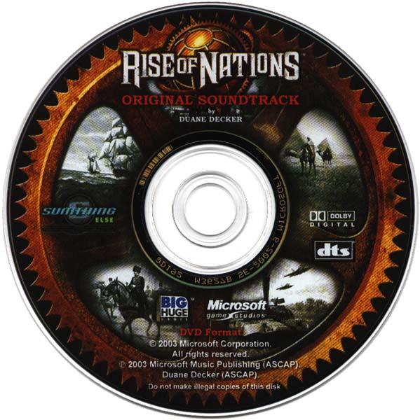 Rise Of Nations Original Soundtrack In 5.1 Surround