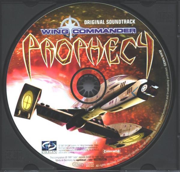Wing commander prophecy original soundtrack soundtrack for Wing commander prophecy