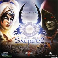Sacred 2: Fallen Angel Audio CD. Передняя обложка. Click to zoom.