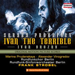 Prokofiev: Ivan the Terrible, Op. 116. Передняя обложка. Click to zoom.