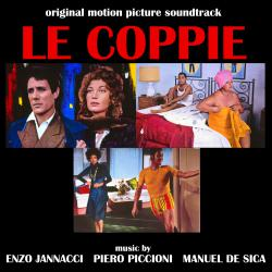 Le Coppie Original Motion Picture Soundtrack. Передняя обложка. Click to zoom.