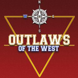 Outlaws of the West. Передняя обложка. Click to zoom.