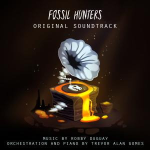 Fossil Hunters Original Soundtrack. Front. Click to zoom.