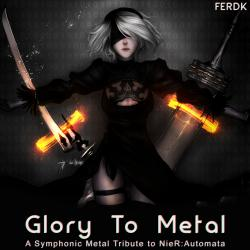 Glory to Metal A Symphonic Metal Tribute to Nier: Automata - EP. Передняя обложка. Click to zoom.