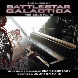 Music of Battlestar Galactica for Solo Piano, The. Передняя обложка. Click to zoom.