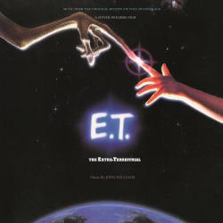 E.T. The Extra-Terrestrial Music From the Original Motion Picture Soundtrack. Передняя обложка. Click to zoom.
