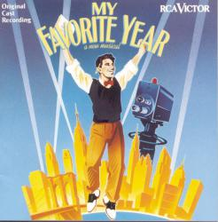 My Favorite Year Music from the Musical. Передняя обложка. Click to zoom.