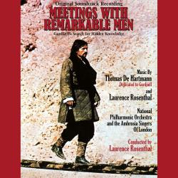 Meetings with Remarkable Men Original Soundtrack Recording feat. The Ambrosian Singers. Передняя обложка. Click to zoom.