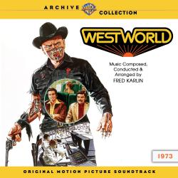Westworld Original Motion Picture Soundtrack. Передняя обложка. Click to zoom.