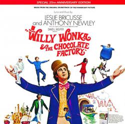 Willy Wonka and the Chocolate Factory Soundtrack from the Motion Picture. Передняя обложка. Click to zoom.