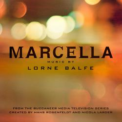 Marcella Original Series Soundtrack. Передняя обложка. Click to zoom.