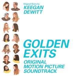 Golden Exits Original Motion Picture Soundtrack. Передняя обложка. Click to zoom.