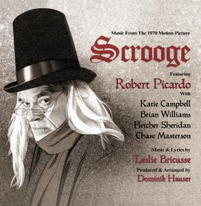 "Music From the 1970 Motion Picture ""Scrooge"". Лицевая сторона . Click to zoom."