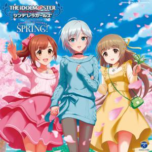 THE IDOLM@STER CINDERELLA GIRLS MASTER SEASONS SPRING!, The. Front. Click to zoom.