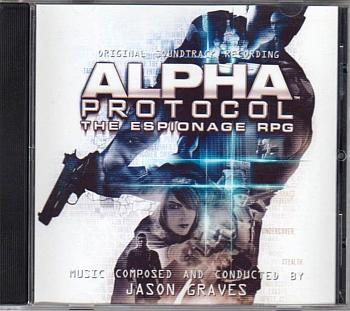 Alpha Protocol Original Soundtrack Recording. Case Front. Click to zoom.