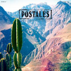 Postales Original Motion Picture Soundtrack. Передняя обложка. Click to zoom.