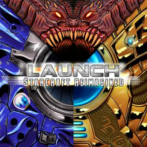 LAUNCH: StarCraft Reimagined. Front. Click to zoom.