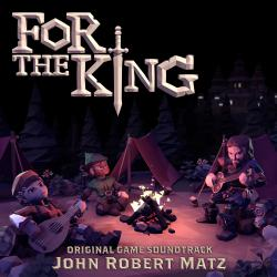 For the King Original Game Soundtrack. Передняя обложка. Click to zoom.