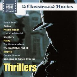 Classics at the Movies: Thrillers. Передняя обложка. Click to zoom.