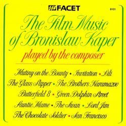 Film Music of Bronisław Kaper Played by the Composer, The. Передняя обложка. Click to zoom.