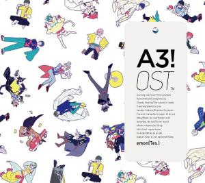 A3! OST. Front (small). Click to zoom.