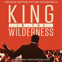 King in the Wilderness Original Motion Picture Soundtrack. Передняя обложка. Click to zoom.