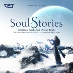 Soul Stories Emotional Orchestral Drama Tracks. Передняя обложка. Click to zoom.