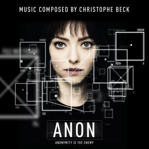 Anon Original Motion Picture Soundtrack. Лицевая сторона. Click to zoom.