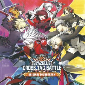 BLAZBLUE CROSS TAG BATTLE Original Soundtrack. Insert Front. Click to zoom.