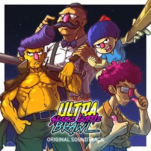 Ultra Space Battle Brawl Original Soundtrack. Front (small). Click to zoom.