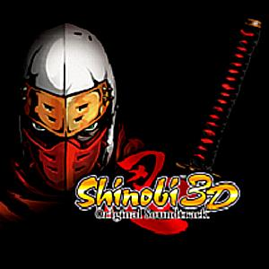 Shinobi 3D Original Soundtrack. Front (small). Click to zoom.