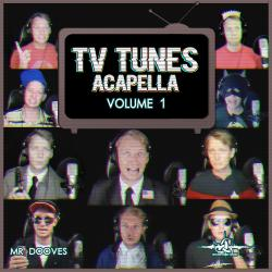TV Tunes Acapella, Vol. 1. Передняя обложка. Click to zoom.