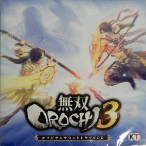 Musou OROCHI 3 ORIGINAL SOUNDTRACK CD. Front. Click to zoom.