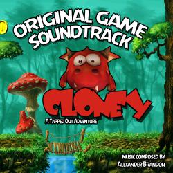 Cloney: A Tapped out Adventure Original Game Soundtrack - EP. Передняя обложка. Click to zoom.