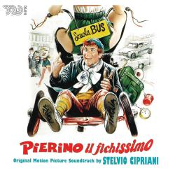 Pierino il fichissimo Official motion picture soundtrack. Передняя обложка. Click to zoom.