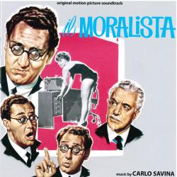 Il moralista Official motion picture soundtrack. Передняя обложка. Click to zoom.