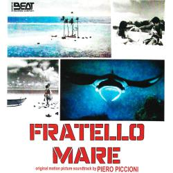 Fratello mare Original motion picture soundtrack. Передняя обложка. Click to zoom.