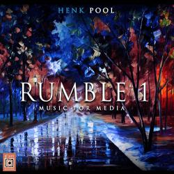 Rumble 1 Music for Media. Передняя обложка. Click to zoom.