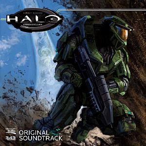 Halo: Combat Evolved Anniversary Soundtrack Limited Edition Green Vinyl. Лицевая сторона . Click to zoom.