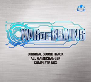 WAR OF BRAINS Original Soundtrack: ALL GAME CHANGER - COMPLETE BOX. Front. Click to zoom.