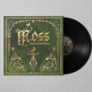 Moss (Original Video Game Soundtrack). Front (sample). Click to zoom.