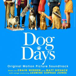 Dog Days Original Motion Picture Soundtrack. Передняя обложка. Click to zoom.