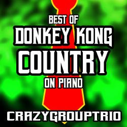 Best of Donkey Kong Country: On Piano. Передняя обложка. Click to zoom.
