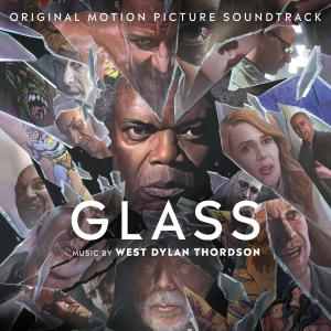 Glass Original Motion Picture Soundtrack. Front. Click to zoom.