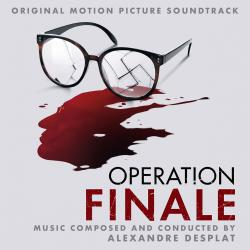 Operation Finale Original Motion Picture Soundtrack. Передняя обложка. Click to zoom.