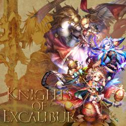 Knights of Excalibur Original SoundTrack2. Передняя обложка. Click to zoom.