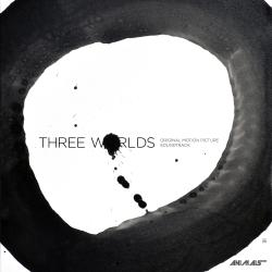 Three Worlds Original Motion Picture Soundtrack. Передняя обложка. Click to zoom.